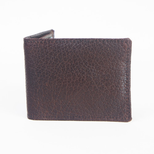 Brown American Bison Wallet