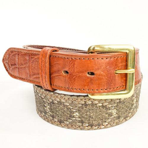 Texas Rattlesnake and Alligator - 1 3/8 inch