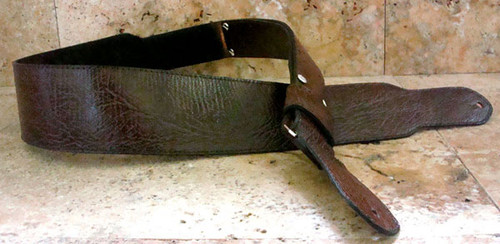 Genuine SHARK SKIN Custom Guitar Strap - HANDCRAFTED in the USA.
