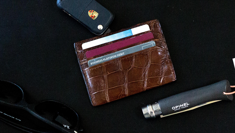 Slim Allagitor Wallet