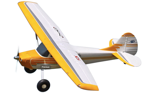 CESSNA 170 YELLOW SUPER PNP