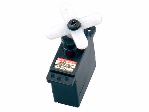 HS-5070MH Ultra Torque, Metal Gear Feather Servo