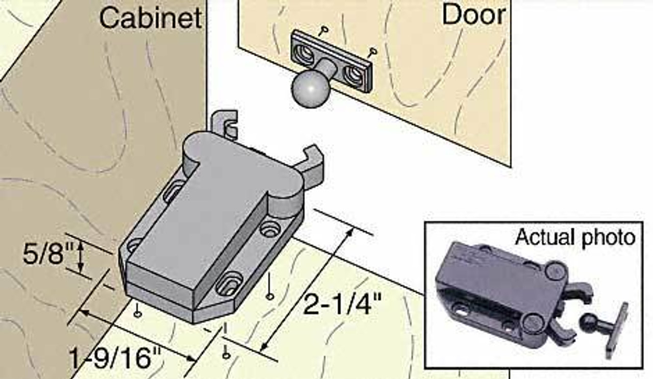 Brackets & Door Latches