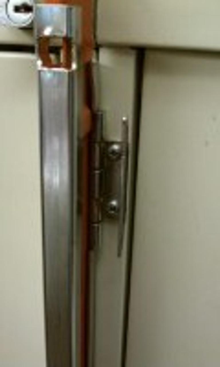 "Progressive FCL-4 4 Drawer File Cabinet Locking Bar 45/"" Long"