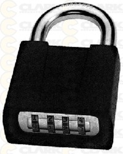 Sesamee Combination Padlock (Black)