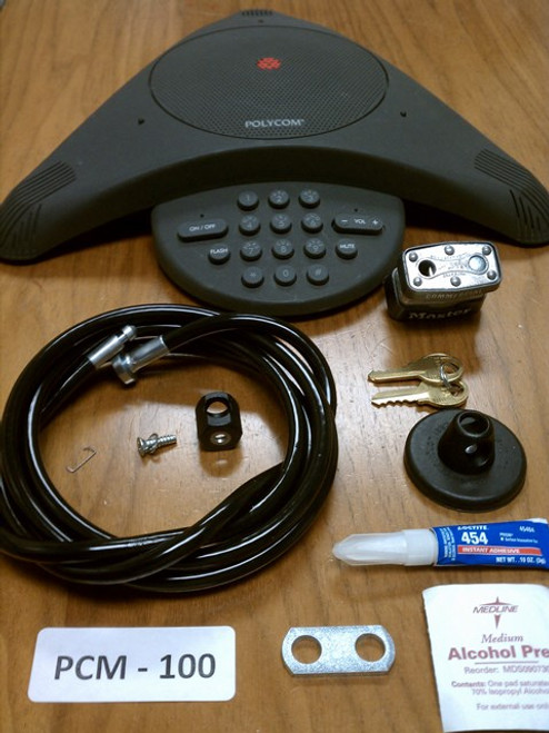 Polycom™ SoundStation Locking Cable Kit