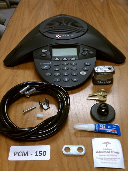 Polycom™ SoundStation2 / VTX / IP Lock Kit