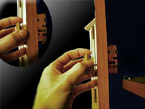 Seismic Resistant Cabinet Door Latch w/ Chrome Knob/(5 latch Min)
