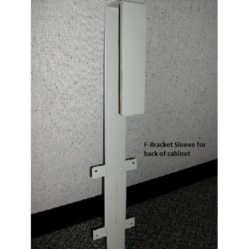 Partition Wall Furniture Bracket 2-Piece