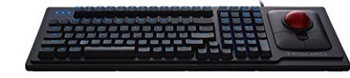 Tesoro G6TL Keyboard with Optical Trackball Mouse
