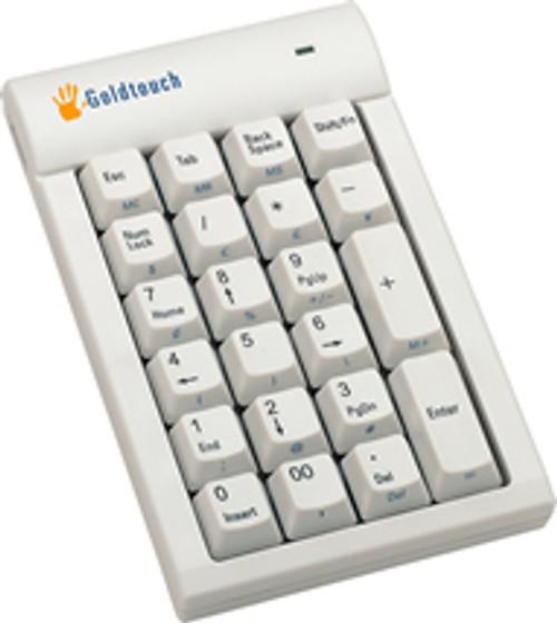 Goldtouch Numeric Keypad - USB, White