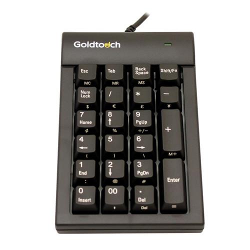 Goldtouch Numeric Keypad - USB, Black
