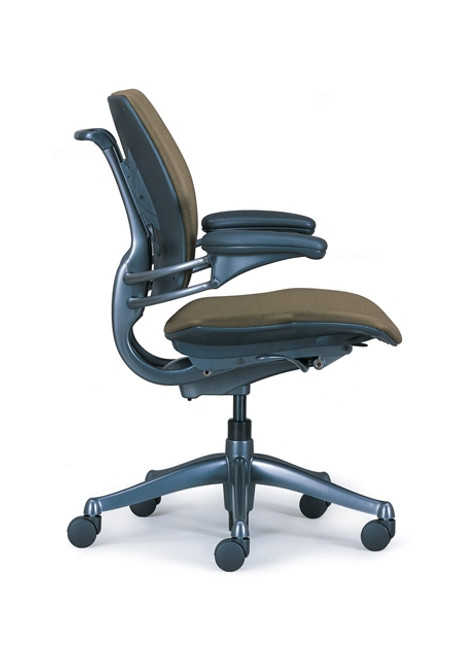 Humanscale Freedom Task Chair with Loden Fabric Color