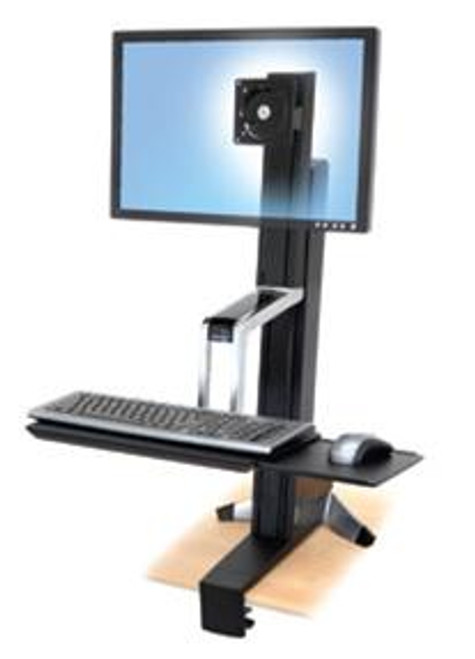 Ergotron WorkFit-S, Single HD Sit-Stand Workstation