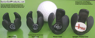 Upright Golf's golf ball pick up tools / golf ball retrievers