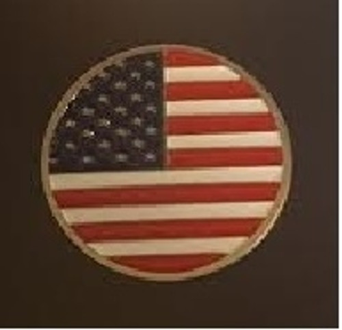 USA Flag Ball Marker