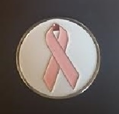Pink Ribbon Ball Marker