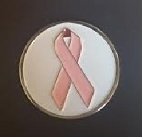 Pink Ribbon Ball Marker