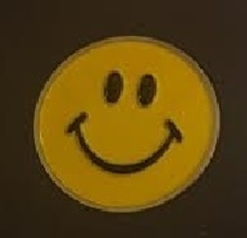Smiley Face Ball Marker