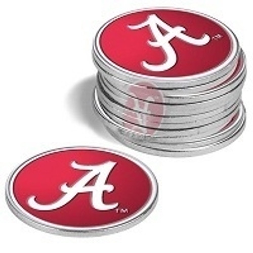 Collegiate Ball Markers - 12 Pack