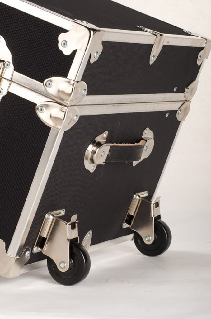 "Jumbo Sticker Trunk - 40"" x 22"" x 20"" - Removable Wheels"