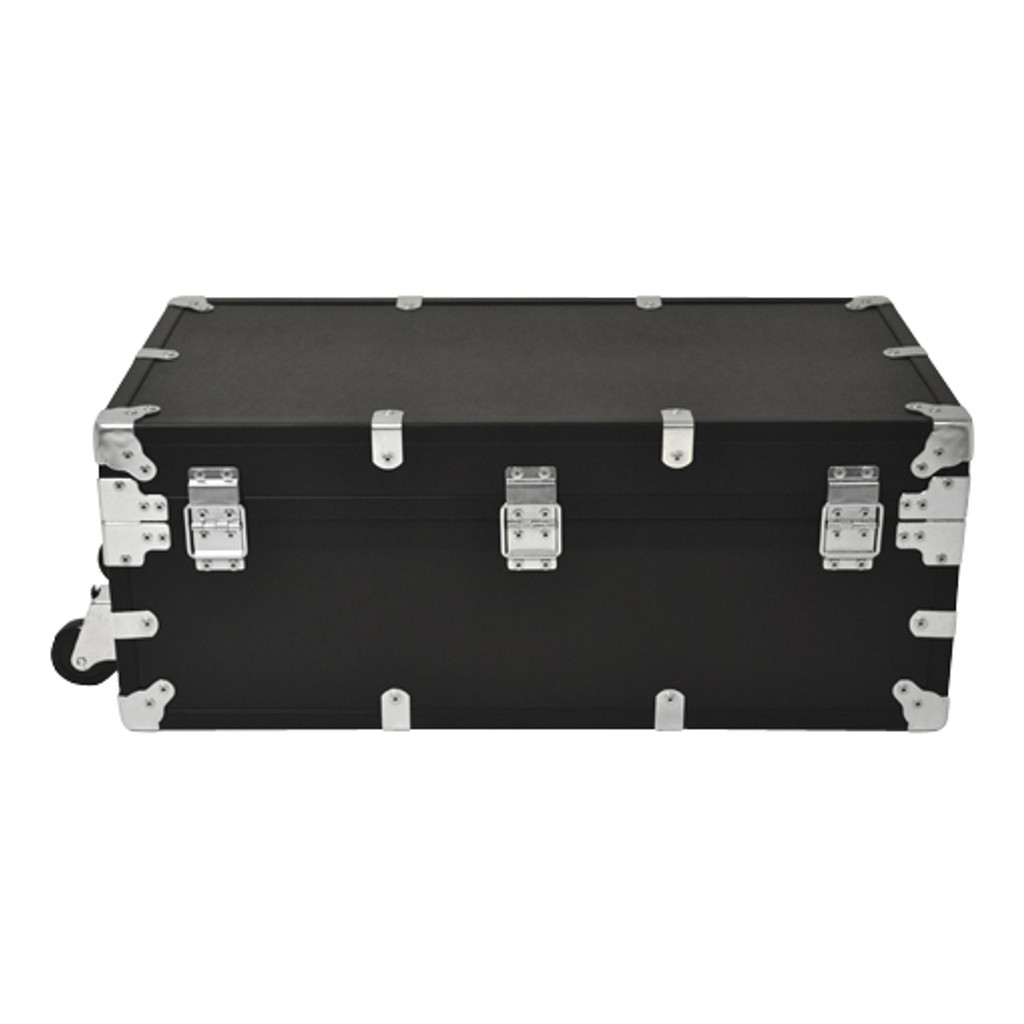 "Large Indestructo Travel Trunk - 32"" x 17"" x 13"" - Back View"