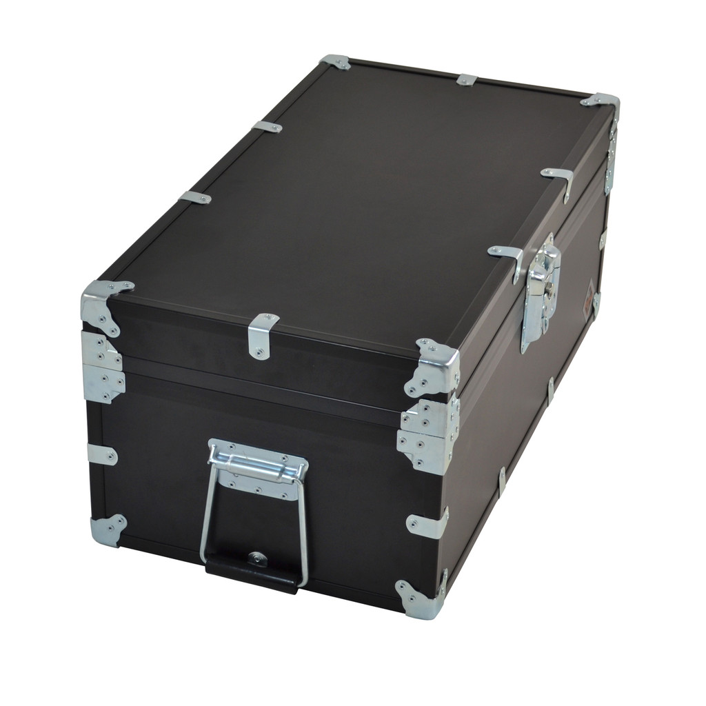"""Large Indestructo Travel Trunk - 32"""" x 17"""" x 13"""" - Long Handle View"""