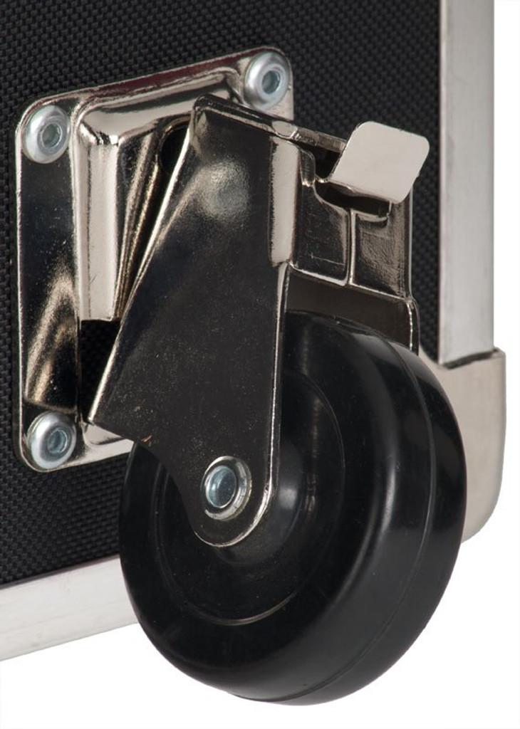"Rhino Super Jumbo Sticker Trunk - 44"" x 24"" x 22"" - Removable Wheels"