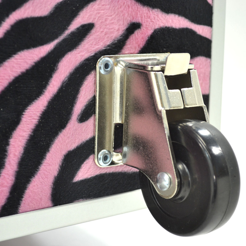 "Rhino Jumbo Zebra Trunk - 40"" x 22"" x 20"" - Wheel On"