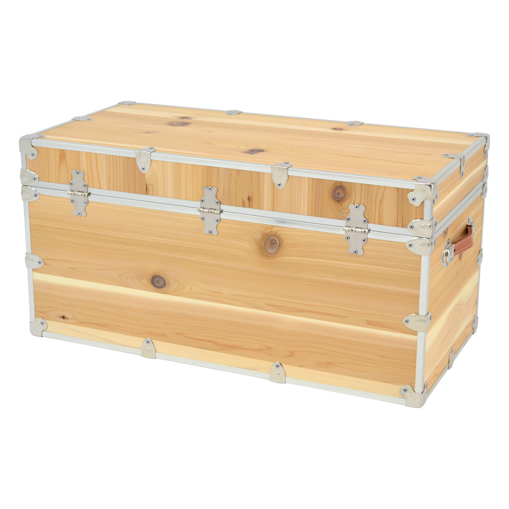 Rhino XXL Cedar Storage Trunk back.