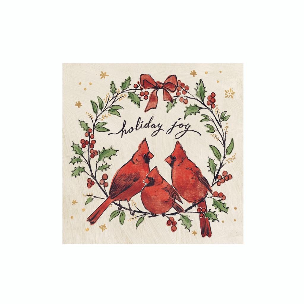 Rhino Holiday Cube Cardinals Top