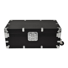 "Large Indestructo Travel Trunk - 32"" x 17"" x 13"" - Front View"