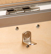 "Rhino Colossus Sticker Trunk - 48"" x 26"" x 24"" - Hardwood Tray Pin"