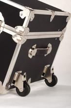 "Rhino Colossus Sticker Trunk - 48"" x 26"" x 24"" - Removable Wheels"