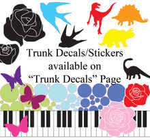 Assorted Polka Dot Decals/Stickers