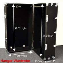 Hanger Wardrobe Trunk - Dimensions