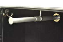 Hanger Wardrobe Trunk - Hanger Rod Extended