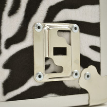 """Rhino XXL Zebra Trunk - 36"""" x 18"""" x 18"""" - Wheel Plate"""