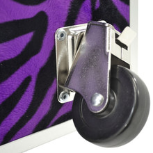 "Rhino Jumbo Zebra Trunk - 40"" x 22"" x 20"" - Wheel Rotating On"
