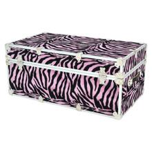 """Rhino XL Zebra Trunk - 34"""" x 20"""" x 15"""" - Back View"""