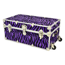 "Rhino XL Zebra Trunk - 34"" x 20"" x 15"" - With Wheels"