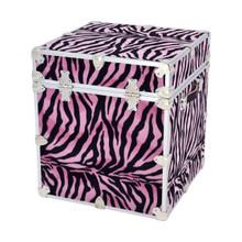 "Rhino Zebra Cube - 18"" x 18"" x 20"" - Back"