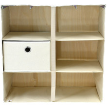 Rhino Urban Wardrobe three shelf inside view empty