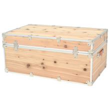 Rhino Large Cedar Storage Trunk back.