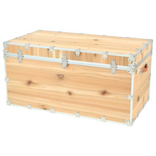 Rhino Jumbo Cedar Storage Trunk back.