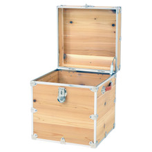 Rhino Cedar Cube Storage Trunk open.