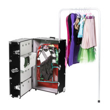 Rhino Dance Star Wardrobe Travel Trunk