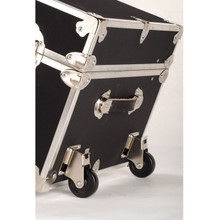 "Rhino Naked Trundle Trunk  with Wheels - 44"" x 20"" x  12"""