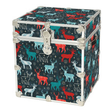 Rhino Holiday Cube Reindeer Front