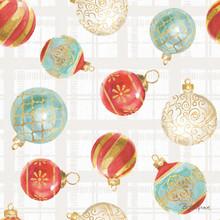 Rhino Holiday Cube Ornaments Exterior